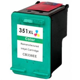 Cartuccia Inkjet per HP 351XL CB338EE J5700 J5730 J5740 J5750 J5780 J5785 J5788 J6410 J6413 J6415 J6424 J6450 J6480 Tricolore