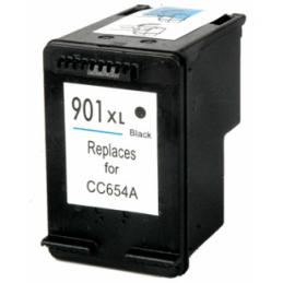 Cartuccia Inkjet per HP 901XL CC654AE Nera