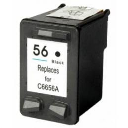 Cartuccia Inkjet per HP 56 C6656AE Nera ALTA CAPACITA'