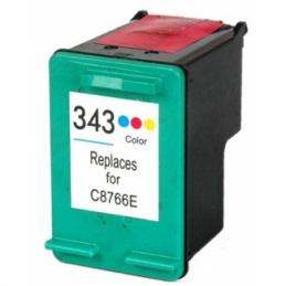 Cartuccia Inkjet per HP 343 XL C8766EE Tricolore