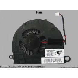 Ventola Dissipatore Fan HP Compaq nc6400 Series Cooling Fan 418886-001, (T7012B05HD-A-C01), DC5V 0.41A