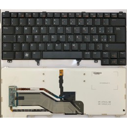 Tastiera italiana Dell Latitude E6420 E6430 E6440 E5420 E5420M E5430 con retroilluminazione  e point