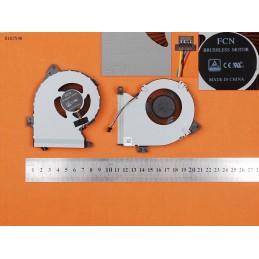 VENTOLA FAN CPU ASUS VIVOBOOK X540YA-DM075T X540YA-E1-7010 X540YA-WB11-CB
