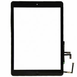 Touch Screen vetro Apple iPad Air A1474 A1475 A1476 Nero completo di tasto home