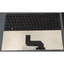 Tastiera Italiana per notebook Gateway NV52 NV53/Packard Bell EasyNote DT85 LJ61 LJ63 LJ65 LJ67 LJ71 Black  MP-07F36I064422904BU