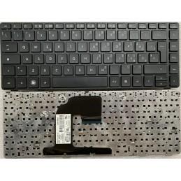 Tastiera italiana HP EliteBook 6460 6460B 6465B 6470B 8460 8460P 8460W 8470P 8470W  Nera con Frame  Nero