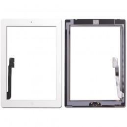 Touch Screen   Ipad 4 Bianco  completi di tasto home e adesivi A1458 A1459 A1460
