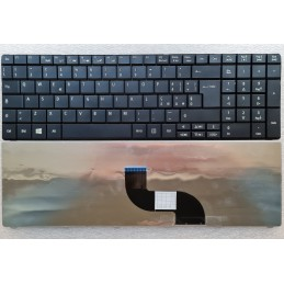 Tastiera Italiana per notebook Packard Bell TM94 TK36 TX86/NV50 INSK-AL20E TK11BZ BLACK