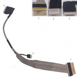 Cavo connessione flat display TOSHIBA Satellite M100 M105  DC020007K00 lcd cable
