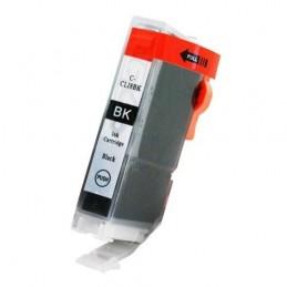 Cartuccia compatibile Canon CLI-8BK nera con chip