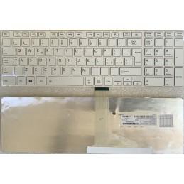 Tastiera Italiana bianca Toshiba Satellite L850 C850 C850D C855 C855D C870 L850 L850D L855 L870 L870D l950 l955