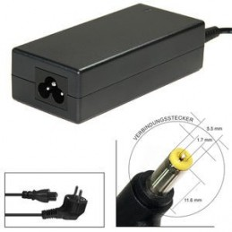 Alimentatore caricabatteria per Packard Bell MS2274 MS2285 MS2273 MS2274 MS2288