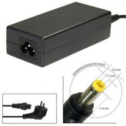 Alimentatore caricabatteria ACER TRAVELMATE P238 19V 2,37a 65w  5,5mm x 1.7mm