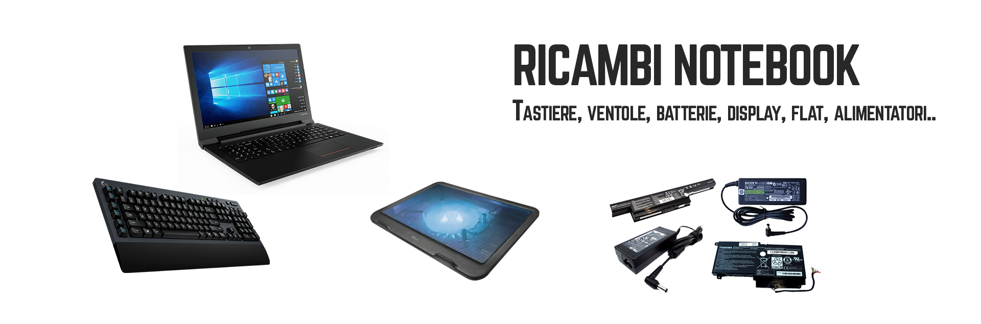 Ricambi notebook